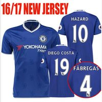 Wholesale NEW BEST QUALITY Chelsea FABREGAS OSCAR FALCAO HAZARD TERRY AZPILICUETA DIEGO COSTA WILLIAN MATIC SHITR