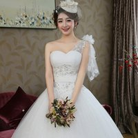 beautiful eyes pictures - 2016 The New Fashion Single Shoulder Lace Simple Thin Waistband Was Thin Bride Wedding Beautiful White Colour Eye contracting B