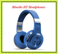 Wholesale Bluedio HT Earphones Wireless Bluetooth Stereo Headphones Built in Mic Handsfree for Calls and Music Streaming Noise Cancelling