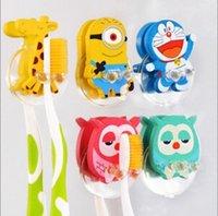 Wholesale Creative Cute Cartoon Animal Sucker Toothbrush Holder XH05025