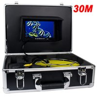 7inch TFT couleur Sewer Pipe Inspection Serpent caméra vidéo GSY9200D 600TVL 12LED DHL
