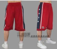 basketball embroidery designs - NEW fashion Summer brand Design Team USA basketball shorts men sports Knee Length training joggers prastice running shorts