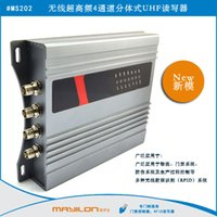 Wholesale 4Channel Split type UHF Reader dbi dbi Antenna RS232 RS485 TCPIP Read M Integrative UHF Reader
