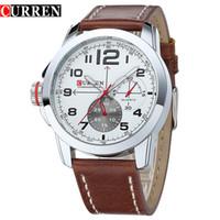 Men's america sports watches - Curren Quartz Watch men s Casual Sport watch Europe and America male fashion Quartz wristwatch Military watches Relogio Masculino