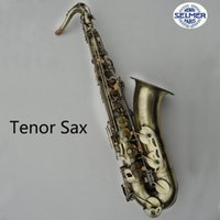 Wholesale Copy Henri selmer tenor saxophone instruments Reference bronze