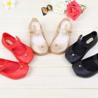 Wholesale 2016 Mini melissa girl sandals new plain rain boot baby summer jelly little children toddler kids Baby shoes zapatos