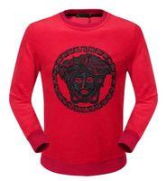 animal land - 2016 st Men s long sleeve round collar medusaes T shirt one is land Thickened fleece plus velvet T shirt