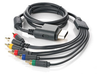 Wholesale HD TV Component Composite Audio Video AV Cable Cord for Microsoft Xbox