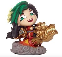 action series - League of Legends LOL new Q version doll series FIRECRACKER JINX hand model cm Boxed PVC Action Figure Collection Model