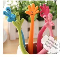 Wholesale hot sale South Stationery Colorful finger Cartoon Pens Children s Toys Gifts pen colors