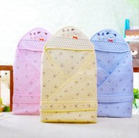 Wholesale Baby cotton spring and autumn baby infant newborn baby is sleeping bags scarf