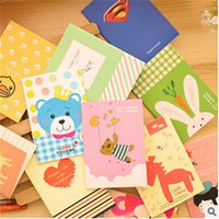 Wholesale Bear rabbit superman notebook Rilakkuma book Soft copybook Vintage Caderno Office School Supplies