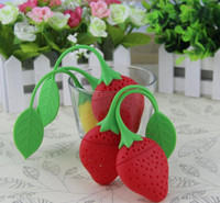 Wholesale New Reuseable Silicone Lemon Shape Tea Bag Infuser Holder Tea Coffee Filter Strainer Tea Ball Infusers Kitchen Accessories