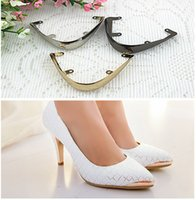 animal restoration - fashion pointed shoes protection shoes worn restoration pointed head hollow metal cover repair parts