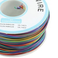 Wholesale B AWG Colour Wire Wrapping Wrap High Quality ok wire Electronics line Insulation Wrapping Cable