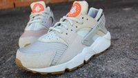 b bones - 2016 Huarache Run TXT Light Bone Men Women Shoes Sneaker Sports Running Trainers Shoe Size