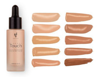 Wholesale In Stock black writing Unique Touch Mineral Liquid Foundation Professional Makeup Foundation Waterproof Face Concealer