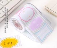 Wholesale 4pcs Certoon Notepad facial dialog paper sticker memo pad sticky notes post it kawaii stationery material escolar school supplies