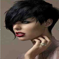 Cheap Black short wig Best Curly 10 black wig