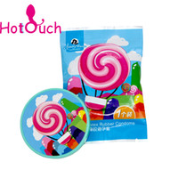 Wholesale Lollipop condoms Creative color condom Sex Tool Products for Men Adult Sex Products Adult fun supplies pieces