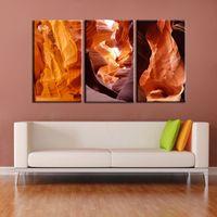 al por mayor fotos definición-3 plato de llama abstracta de alta definición de los cuadros impresos en el lienzo adorno de casa cuadro