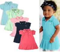Wholesale New Girls Dresses Summer Kids Clothing New Children s Dresses Dress Casual Sport Tennis Dresses