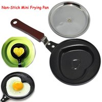 Wholesale Non Stick Mini Frying Pan Mini Non Stick Egg Frying PANCAKES Kitchen Pan Housewares Kitchen Cauldron