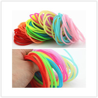 Wholesale Cheap fluorescence Silicone bracelet Mixed color Glow in the dark rubber wrist band for women men