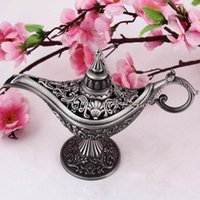 Wholesale Fairy Tale Aladdin Magic Lamp Tea Pot Genie Lamp Vintage Retro Toys For Children Home Decorations