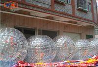 achat en gros de zorbing zorb-boule de hamster humain, bon marché prix herbe zorbing ball, durable gonflable Zorb Boule à vendre
