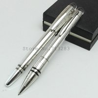 Wholesale Luxury office pen starwalker rollerball pen matte grid ballpoint pen school supplies pen stationery