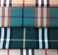articles for baby - 100 COTTON high quality Classic plaid cotton shirt fabric cm width for meters Z1401