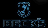 becks light beer - LS800 b Beck s Becks Beer Sign Bar Neon Light Signs jpg