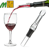 Wholesale High Quality ECO Friendly Acrylic Aerating Pourer Decanter Wine Aerator Spout Pourer New Portable Wine Accessories With Good Package