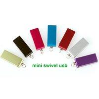 Wholesale mini waterproof usb flash drive gb gb gb gb gb gb gb metal swivel pendrive memeory stick factory price