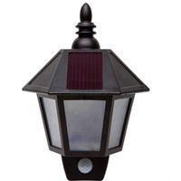 Wholesale Retro Style Solar Lamps Solar Wall PIR Light Fashion Design Garden Street Solar Lights for Outdoor Lighting OED