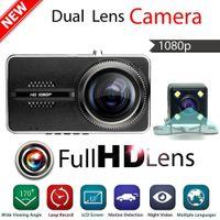 Wholesale Dual Lens Original Novatek Car DVR Camera Full HD P Night Vision Digital Video Recorder Auto Dash Cam Black Box