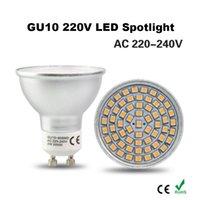 aluminum rates - GU10 V LED Spotlight SMD Leds Light Rated Power W Bulb Lamp Spot Light Aluminum Shell Corn Lighting