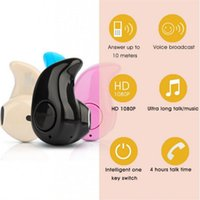 Wholesale New Sport Running S530 Mini Stealth Wireless Bluetooth Earphone Stereo Headphones music Headset Retail Box for iphone7 plus for note7