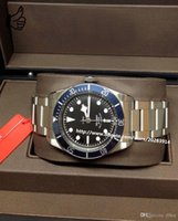 bay box - Luxury New Automatic Her1e Black Bay Box Paperwork mens Watch Men s Watches Top quality