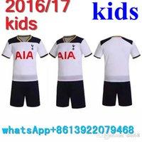 Wholesale 2016 kids Children Soccer Jersey Stoke City Children Spurs Club West Bromwich Albion Tottenham kids