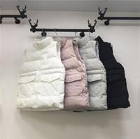 Wholesale 5 colors women s elegant cotton vest Hot New high quality New female winter warm Jacket Outerwear Thicken ladies fashion vest top