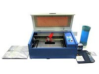best rotary laser - No tax free Ship From UK Best price mini laser engraving machine LY co2 laser cutting machine W tube with rotary axis