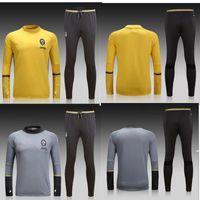Wholesale Juventus football clothes Training suit men breathable long sleeve winter sweater T shirts Juventus jerseys ET