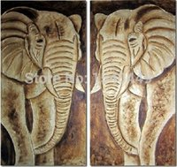 best digital artists - From Artist Directly Best Quality Original Double Elephants Hand painted Oil Painting On Canvas for Home Decoration MD2P9