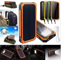 Wholesale HOT mah Waterproof Solar Power Bank External Battery Charger For Mobile Phones
