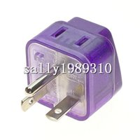 Wholesale Universal to North American NEMA P US Canada Electrical Plug Adapter