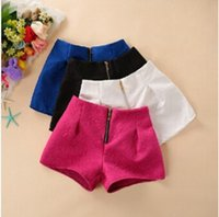 Wholesale New Spring Summer Designer Women Shorts High Quality Dobby Straight Casual Short Pants Black White Blue Red