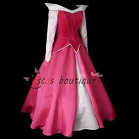 adult aurora costume - custom made deluxe Adult Sleeping Beauty Dress Princess Aurora cosplay costume Women fancy party dress for kids