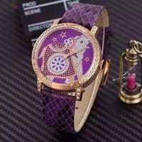Wholesale High quality women s watch Fancy Rose Gold Rhinestones Quartz Watch for ladies dress watch gold Women s wrist watches
